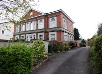 Thumbnail 2 bed flat for sale in Goldsmith House, 50 Hough Green, Chester, Cheshire