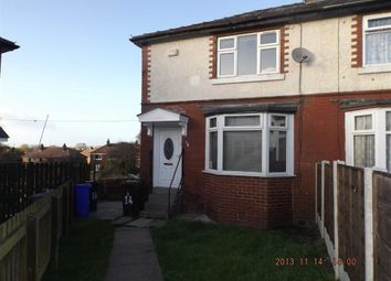 Thumbnail 2 bed semi-detached house to rent in Hazel Avenue, Ashton-Under-Lyne