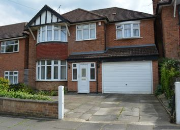 Thumbnail 4 bedroom detached house for sale in Downing Drive, Evington Village, Leicester