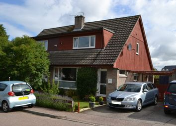 Thumbnail 3 bed semi-detached house to rent in 23 Thornhill Place, Forres