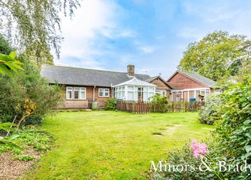 Thumbnail 3 bed detached bungalow for sale in Hardingham Street, Hingham, Norwich