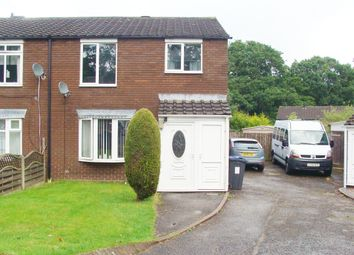Thumbnail 3 bedroom end terrace house for sale in Barlow Close, Rubery
