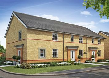 "Thumbnail 3 bed end terrace house for sale in ""Folkestone"" at Broughton Crossing, Broughton, Aylesbury"