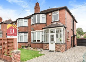 Thumbnail 3 bed semi-detached house for sale in St Martins Crescent, Chapel Allerton, Leeds