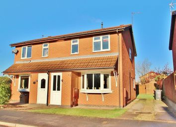 Thumbnail 3 bed semi-detached house for sale in Caernarvon Close, Mountsorrel, Leicestershire
