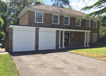 Thumbnail 4 bed detached house to rent in Red Court, Pyrford