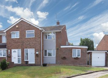 Thumbnail 3 bed semi-detached house for sale in Langdale Road, Dunstable, Bedfordshire