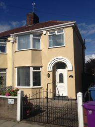 Thumbnail 3 bedroom semi-detached house to rent in Ardrossan Road, Walton, Liverpool