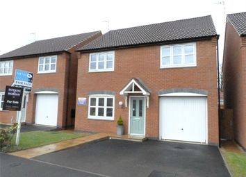 Thumbnail 4 bed detached house for sale in Leaders Way, Lutterworth