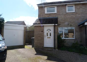 Thumbnail 3 bed semi-detached house to rent in Greenacre Close, Brundall, Norwich