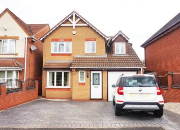 Thumbnail 3 bed detached house for sale in Simeon Bissell Close, Tipton