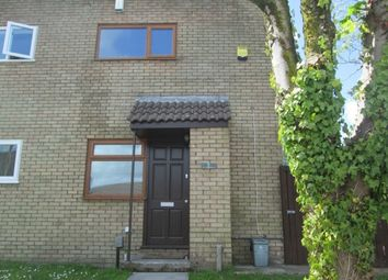 Thumbnail 1 bed end terrace house to rent in Y Llwyni, Llangyfelach