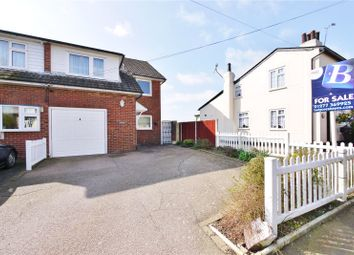 Thumbnail 3 bedroom semi-detached house for sale in The Street, High Ongar, Ongar, Essex