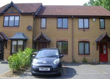 Thumbnail 2 bed terraced house to rent in Cranhill Close, Littleover, Derby