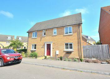 Thumbnail 4 bed detached house for sale in Stevensons Road, Longstanton, Cambridge