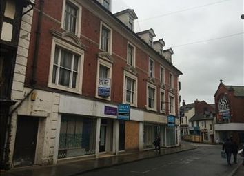 Thumbnail Retail premises for sale in Units 1 & 2, 5/9 Cross Street, Oswestry