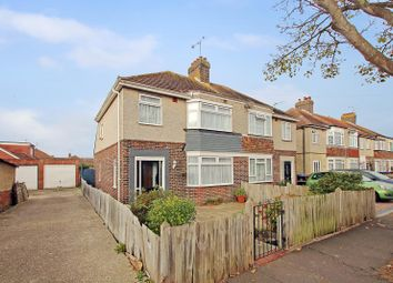 Thumbnail 3 bed semi-detached house for sale in Brookdean Road, Worthing