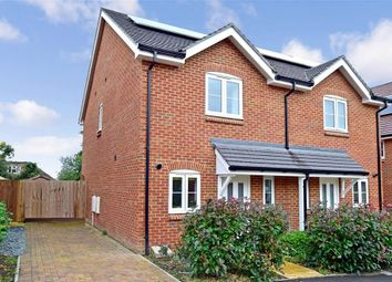 Thumbnail 2 bed semi-detached house for sale in Daux Avenue, Billingshurst, West Sussex