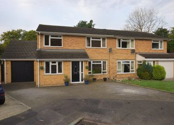 Thumbnail 4 bed semi-detached house for sale in Randell Close, Blackwater, Camberley