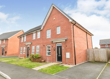 Thumbnail 3 bed semi-detached house for sale in Townsend Drive, Buckshaw Village, Chorley, Lancashire