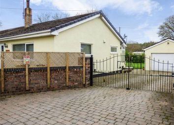 Thumbnail 3 bed detached bungalow for sale in Hafod Moor, Gwernaffield, Mold, Flintshire