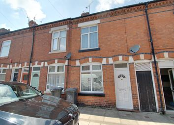 Thumbnail 2 bed terraced house to rent in Denmark Road, Leicester