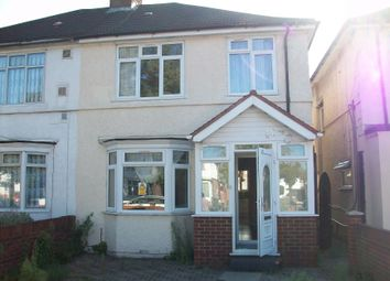 Thumbnail 4 bed semi-detached house to rent in Vicarage Farm Road, Heston