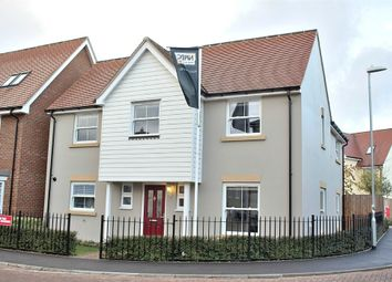 Thumbnail 4 bed detached house for sale in Woodlands Park, Great Dunmow, Essex