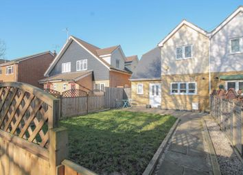 Thumbnail 3 bed semi-detached house for sale in Mynchens, Laindon, Basildon