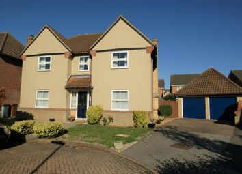Thumbnail 4 bed detached house for sale in The Brambles, Bishop's Stortford