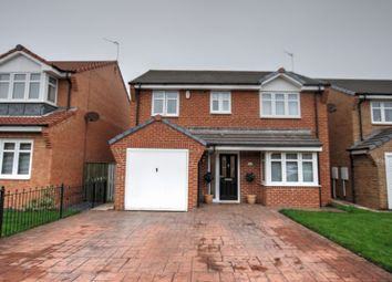 Thumbnail 4 bed detached house for sale in Bramble Close, Blyth