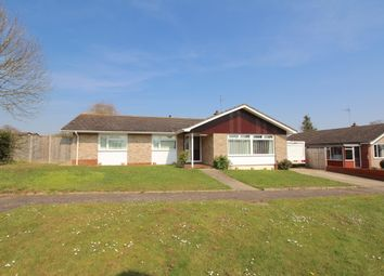 Thumbnail 3 bed detached bungalow for sale in Warwick Avenue, Halesworth