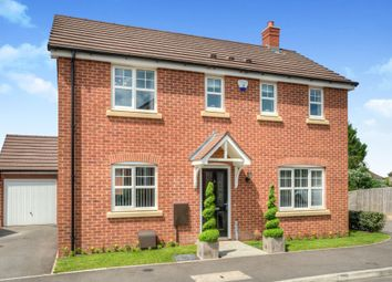 Thumbnail 3 bed detached house for sale in Butler Close, Whitnash, Leamington Spa