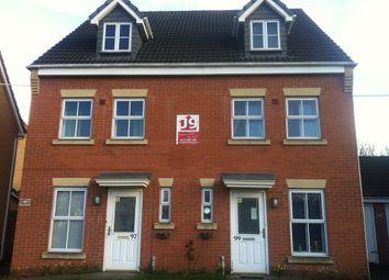 Thumbnail Studio to rent in Marbury Drive, Bilston