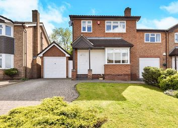 Thumbnail 3 bed detached house for sale in Cricketers Close, Stapenhill, Burton-On-Trent
