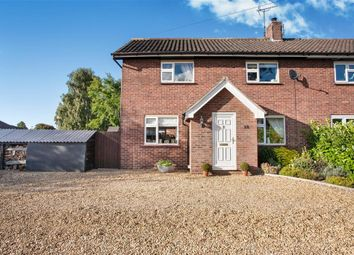 Thumbnail 4 bed semi-detached house for sale in Dennys Walk, Narborough, King's Lynn