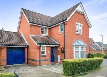 Thumbnail 3 bed detached house for sale in Lodge Farm Drive, Old Catton, Norwich