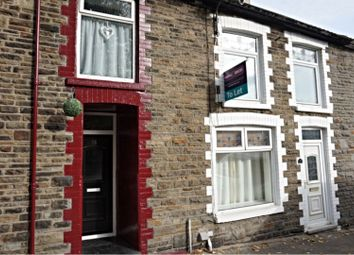 Thumbnail 2 bed terraced house to rent in Miskin Road, Tonypandy