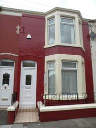 Thumbnail 1 bed terraced house to rent in Cedardale Road, Liverpool