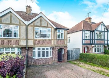 Thumbnail 3 bedroom semi-detached house for sale in Coldharbour Lane, Bushey