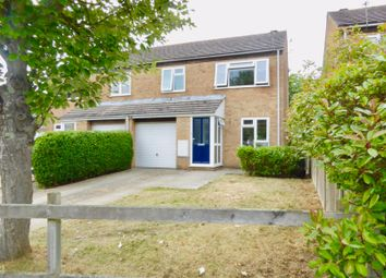 Thumbnail 3 bed semi-detached house for sale in Holbury Close, Bournemouth