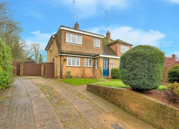 Thumbnail 4 bedroom semi-detached house for sale in Crabtree Lane, Harpenden