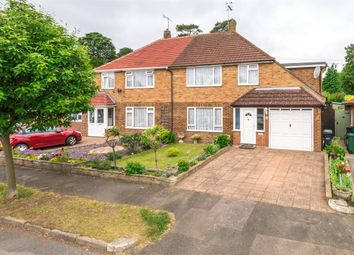 Thumbnail 4 bed semi-detached house for sale in Westway Gardens, Redhill, Surrey