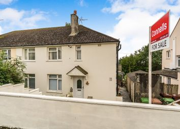Thumbnail 2 bed flat for sale in Taunton Avenue, Whitleigh, Plymouth