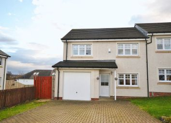 Thumbnail 4 bedroom semi-detached house for sale in Baxter Brae, Cleland, Motherwell