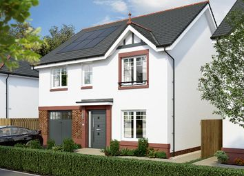 "Thumbnail 4 bed detached house for sale in ""The Rosebury"" at Lochview Terrace, Gartcosh, Glasgow"