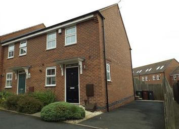 Thumbnail 2 bedroom end terrace house for sale in Water Reed Grove, Walsall, West Midlands
