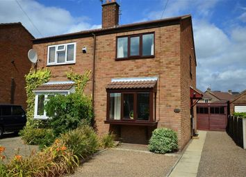 Thumbnail 2 bed semi-detached house for sale in Lingcroft Close, Camblesforth, Selby
