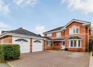Thumbnail 4 bed detached house for sale in Boningale Way, Dorridge, Solihull