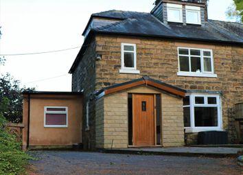 Thumbnail 4 bed semi-detached house for sale in Crich Lane, Ridgeway, Ambergate, Belper